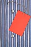 衬衣和标签 免版税库存图片