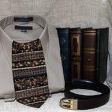 衬衣和领带 免版税库存照片