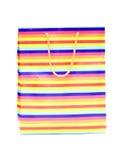 袋子五颜六色的购物 免版税库存图片