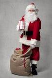 袋子克劳斯存在圣诞老人 免版税库存图片
