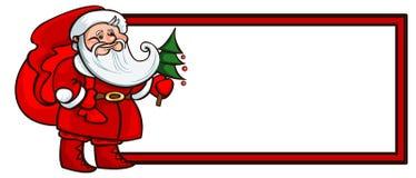 袋子克劳斯礼品圣诞老人 皇族释放例证