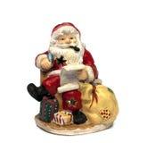 袋子克劳斯纵向存在圣诞老人 图库摄影