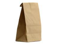 袋子剪报午餐路径 免版税库存图片