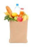 袋子副食品 免版税库存图片