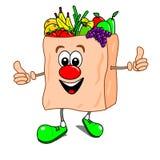 袋子动画片果子veg 向量例证