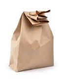 袋子午餐路径 免版税库存照片