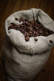 袋子咖啡 图库摄影