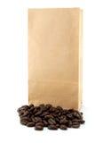 袋子咖啡 免版税库存照片