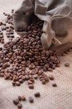 袋子咖啡 免版税图库摄影