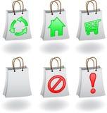 袋子图标 免版税图库摄影