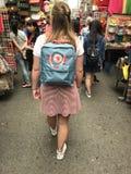 袋子在香港 库存图片