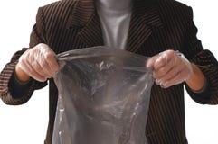 袋子垃圾 免版税库存照片