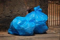 袋子垃圾 免版税库存图片