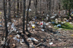 袋子塑料垃圾 免版税库存照片