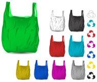 袋子塑料 皇族释放例证