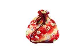 袋子存在红色小 免版税库存照片