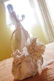 袋子新娘 免版税库存图片
