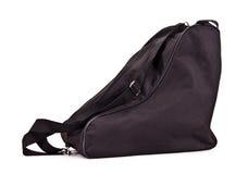 袋子曲棍球对冰鞋 免版税库存照片