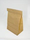 袋子棕色午餐纸张 免版税库存图片