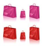 袋子爱购物 向量例证
