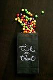 袋子用糖果 免版税库存图片