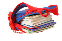 袋子登记学校 免版税库存图片