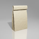 袋子白纸 库存图片