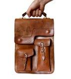 袋子皮革 免版税库存照片