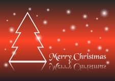 袋子看板卡圣诞节霜klaus ・圣诞老人天空 库存照片