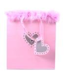 袋子礼品粉红色 库存图片