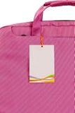 袋子粉红色 免版税库存照片