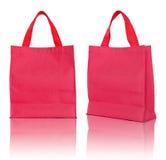 袋子红色购物 图库摄影