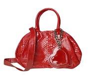 袋子红色 库存图片