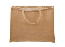 袋子纤维自然可再用的购物 免版税库存照片