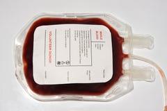 袋子血液 免版税库存照片