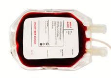 袋子血液 免版税图库摄影