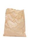 袋子被弄皱的纸张 库存图片