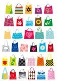 袋子设计购物 免版税库存图片