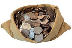 袋子货币 库存照片