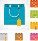 袋子购物向量 库存照片