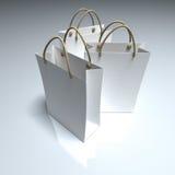袋子购物的三重奏 皇族释放例证