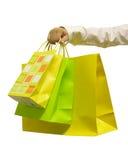 袋子购物 图库摄影