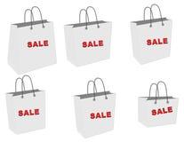 袋子销售额 免版税库存图片
