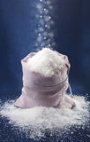 袋子雪 免版税库存照片