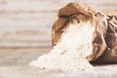 袋子面粉 免版税库存图片