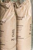 袋子面粉 免版税库存照片