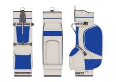 袋子高尔夫球例证 免版税库存照片