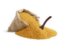 袋子麦子 免版税库存照片