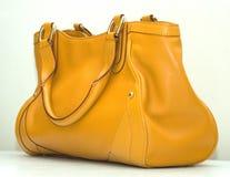 袋子黄色 免版税库存图片