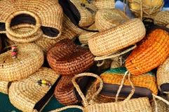 袋子织法 图库摄影